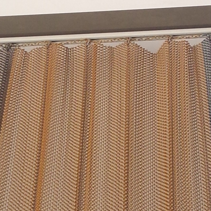 copper decorative mesh