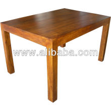 Mesa de comedor de madera de Sheesham
