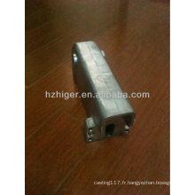 pièce de machine à coudre en aluminium de bâti personnalisée