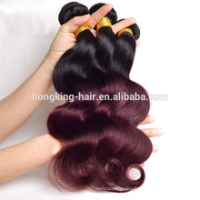 Factory Direct Price T Color Body Wave Style and Remy Hair Hair 8A Grade Best Price Ombre Color Human Hair Weave