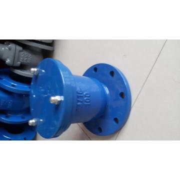 Flanged single orifice air valve