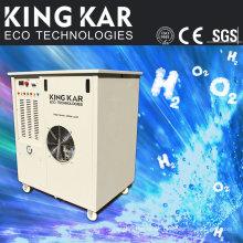 Máquina cortadora de chapa con generador de gas