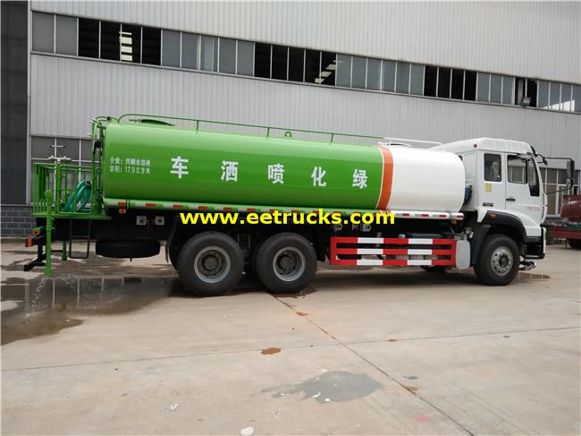 SINOTRUK Sprinkler Water Trucks