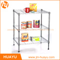 Durable Furniture 3 Tier Metal Wire Shelf Storage Shelving Rack