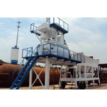 50m3/H Mobile Concrete Mixing Plant