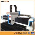 Máquina de corte del laser del acero inoxidable de 800 vatios / cortadora del laser para el corte de la hoja del metal