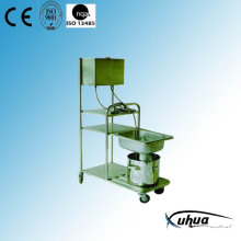 Stainless Steel Hair Washing Trolley (S-2)