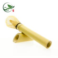 Handgemachter langstieliger Bambus Chasen Matcha Teebesen
