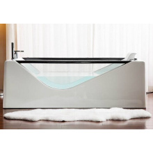 Cupc Glass Bath Tub Acrylic Free Standing Soaking Bath Tub