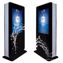 42′′46′′ 55′′ 65′′ Floor Standing Outdoor Waterproof High Brightness LCD Ad Display