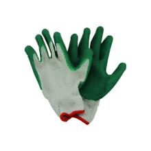 Gant de travail en lin doublé en coton léger, gant Latex bon marché