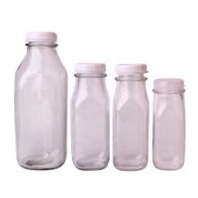 Wholesale 1liter glass milk bottle 240ml 350ml 400ml 900ml glass bottle for milk