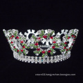 wholesale metal king pageant full crystal rhinestone pageant crowns and tiaras