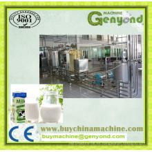 Máquinas completas de producción de leche Uht