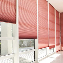 Modernas cortinas y persianas de oficina de diseño de panal