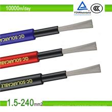 TUV PV1-F 4 мм2 6 мм2 10 мм2 Xlpo изоляция PV солнечный кабель