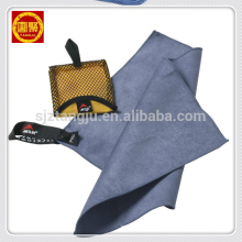 De secagem rápida de microfibra personalizado de viagem de camurça esportes toalha de praia