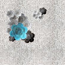 Tecido 100% poliéster impresso com revestimento (PPF-047)