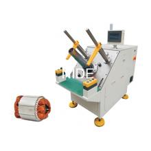 Équipement d'insertion d'enroulement semi-automatique de bobine de stator de moteur triphasé