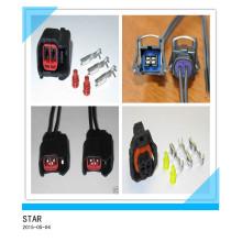 Hohe Qualität 2 Pin Elektro Automotive Bosch Drahtanschluss