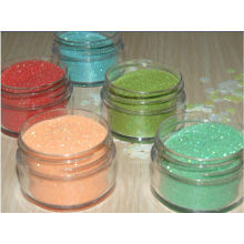 Diamond Color Glitter Powder Epoxy Coated For Painting / Fashion