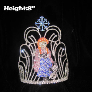 Crystal Custom Pageant Crowns With Anna Olaf