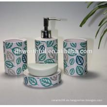 2016 Nuevo diseño de baño de cerámica personalizado conjunto
