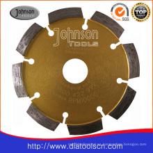 Hormigón de alta calidad que agrieta la hoja del punto de la puntada del diamante