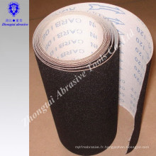 Rouleau de tissu abrasif d'oxyde d'aluminium de 1.4m * 50m 115mm * 50m imperméable à l'eau