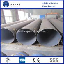 SA2.5 astm a53 smls tube en acier avec revêtement