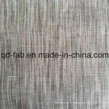 Tissu de lin teintée à la vente chaude (QF16-2475)