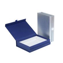 Fashion Book Shape Style Paper Material Nail Polish Storage Box