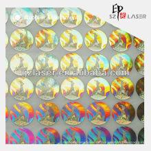 Neues Design 3D klar Epoxy Aufkleber Blasen