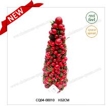 H32cm Design spécial en plastique Fleur de cerisier artificielle Couronne d'arbre Fleur artificielle