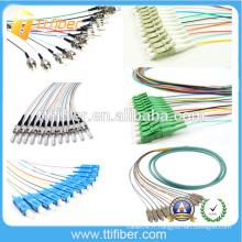 ST / SC / LC / FC Fibre Optique Pigtail Fournisseur