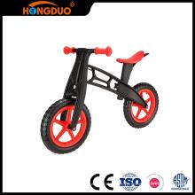 Excelente qualidade madeira mini balanço bicicleta duas rodas
