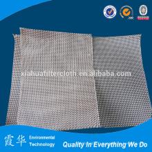 Tissu filtrant en fibre de verre industriel pour filtres à bagages