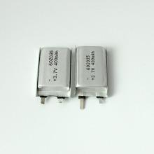 3.7v 400mah lipo battery cell for bluetooth headset