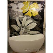 Flower Mosaic, Mosaic Mural, Artistic Mosaic for Wall (HMP807)