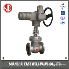 Motorized gate valve electric
