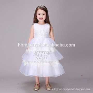 The Main Attraction White Tulle Puffy Layers Boutique Clothing Birthday Dress For Baby Girl