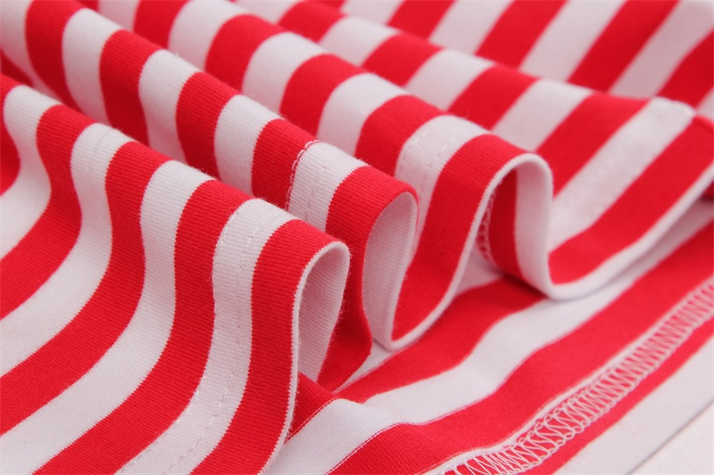 Red And White Striped Shirt Mens