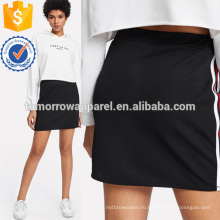Полосатые ленты боковые юбки Производство Оптовая продажа женской одежды (TA3070S)