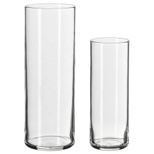 Manufacturers Customize Various Household Clear Glass Vases with Different Specifications