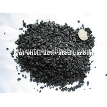 Charbon actif de coquille de noix granulaire de prix concurrentiel, de haute qualité pour la désodorisation de l'eau)