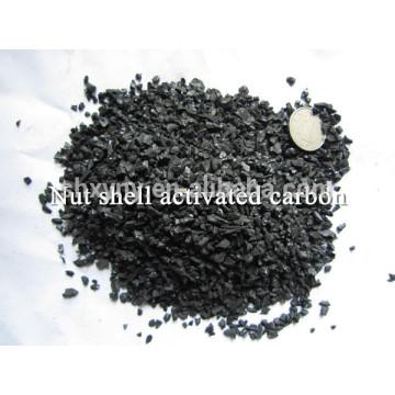Precio competitivo de la cáscara de la nuez carbón activado, de alta calidad para la desodorización del agua)