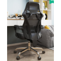Executive Mesh Stoff Computer Bürostuhl mit Fußstütze