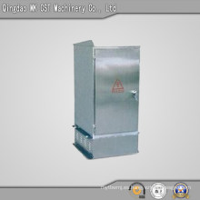 Caja de distribución de chapa metálica para exterior