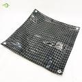 Ткань hdpe черная прозрачная сетчатая пленка