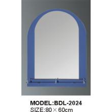 Miroir en verre d'argent de salle de bains d'épaisseur de 5mm (BDL-2024)